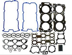 Fits 02 03 04 05 06 07 08 Nissan Car 3.5L DOHC V6 24V VQ35DE- Head Gasket Set