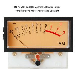 VU Panel Meter TN-73 High Precision VU Meters Header DB Meter Level Audio US