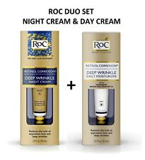 RoC Retinol Correxion Deep Wrinkle Night Cream Day Cream Duo Set 33 ml each