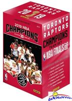 2019 Panini Toronto Raptors NBA Champions Factory Sealed Box Set-Kawhi Leonard!