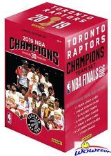 2019 Panini Toronto Raptors NBA Champions Factory Sealed Box Set-Kawhi Leonard!