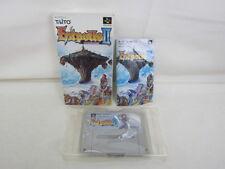 ESTPOLIS II 2 Item Ref/bcc Super Famicom Taito Nintendo SFC JAPAN Boxed Game sf
