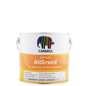(23,60€/ L)Caparol Capalac AllGrund 2,5l, weiß