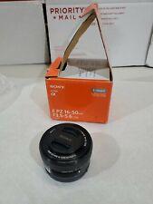 GENUINE Sony E PZ 16-50mm f/3.5-5.6 OSS Lens SELP1650 A+ CONDITION