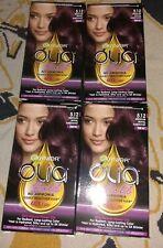 4 Garnier Olia Ammonia Free Hair Color 5.12 Medium Royal Amethyst