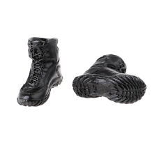1/6 Soldier Men's Lace Up Boots Shoes for 12'' Side Show Action Figure Toy