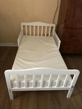 Toddler Bed for Kids, Wood W/Safety Guardrails, No Mattress, Pick Up Only Please