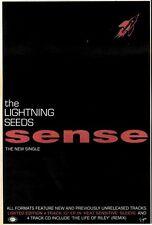 "23/5/92Pgn04 THE LIGHTNING SEEDS : SENSE SINGLE ADVERT 10X7"""