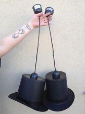 Lustre originale. Chapeaux haut de forme. Ampoules Edison.
