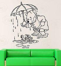 Wall Stickers Vinyl Decal Kids Room Winnie The Pooh Cartoon Baby Decor (ig1054)