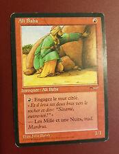 MTG X1: Ali Baba, Arabian Nights, R, Moderate Play, French