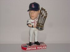 JONATHON PAPELBON Boston Red Sox Bobble Head 2007 World Series Champs Trophy MLB