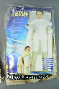 Rubies Star Wars Padme Amidala Costume New in Package Size Child Large 12-14