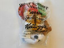 "Walt Disney World Jessie Mini Bean Kellogg's 2001 Doll Stuffed 4"" Toy NOS"