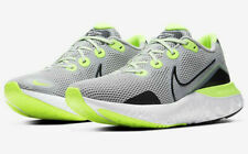 Nike Renew Run (4E) WIDE Running Shoes Gray Fog Volt CW7437-006 Men's NEW