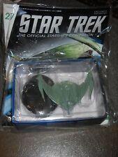 Eaglemoss Star Trek Enterprise Romulan Bird of Prey 2152 miniature+magazine #27