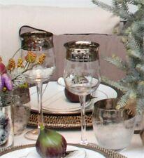 LENE BJERRE Rotweinglas WALDORF COLL. Mit echt Platinrand Maße: H 22 cm