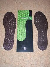 NIKKEN MAGSTEPS MAGNETIC INSOLES #2021 MEDIUM 7-12 - NEW IN PACKAGE