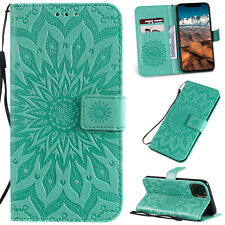 Magnet Case For iPhone 11/ 11 Pro/ 11 Pro Max Floral Flip Leather Wallet Cover