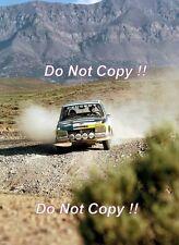 Timo Makinen Peugeot 504 Ti Morocco Rally 1975 Photograph