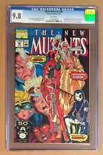 NEW MUTANTS #98 • CGC 9.8 • 1st App DEADPOOL • White Pages 1991 Marvel Comics