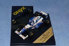 Onyx 1/43 281 Williams Renault FW18 Damon Hill Ganador GP 1996 francés