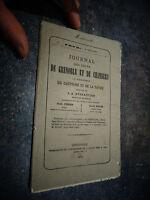 1873 Journal Cours de Grenoble et Chambery Tribunaux Dauphiné Savoie Tribunal