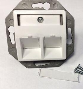 10 mal Trägerrahmen für Keystone Modul (e) (leer)