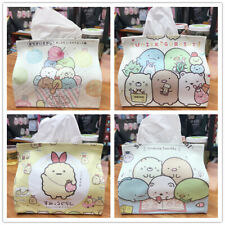 Sumikko Gurashi  rabbit PU tissue cover holder bag box tissues case decorate