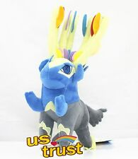 Pokemon Center XY Xerneas Stuffed Animal Plush Doll Toy 12inch Height