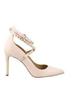 Michael Kors Shoes Size UK 6 EU 39 Pink Leather Women's High Heel Court Strappy