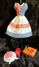 """Barbie """"Forth of July Getaway"""" Sundress & Sunhat Ensemble with Accessories"""
