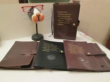 Deluxe Double AA Big Book Cover for Alcoholics Anonymous Big Book & 12&12