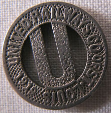 1919 St Louis Missouri United Railways Transit Token **98 YEARS OLD** whotoldya