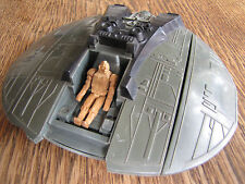 Mattel Battlestar Galactica Cylon Raider 1978 incomplete custom pilot