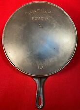 Wagner Sidney Cast Iron # 10 skillet * Sits Flat *