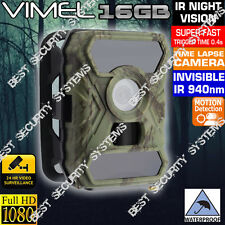 House Security Camera Home Wireless System Trail Scout Hunting 16G No Spy Hidden