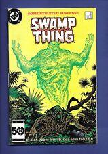 SAGA OF THE SWAMP THING #37 1st App John Constantine HELLBLAZER 1985 Alan Moore