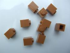 10 x Lego Brown Brick (size 1x1) - 6057986 (Parts & Pieces)
