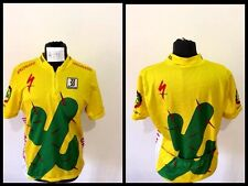 Maglia ciclismo biemme cactus shirt cycling trikot jersey made in italy vintage