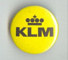 KLM Royal Dutch Airlines LOGO Badge