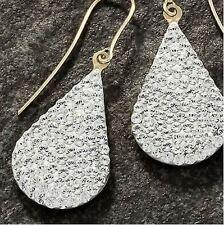 Pear-drop Gold con Cristalli Orecchini gioielli ear SPUMANTE splendido CIONDOLO
