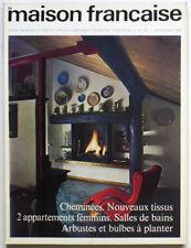 revue LA MAISON FRANCAISE n° 202 novembre 1966, Déco Architecture, Art de vivre