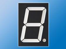 7-Segment Anzeige   KW1-2301AWB   Weiß   Symbolhöhe 56,8 mm   gem. Anode