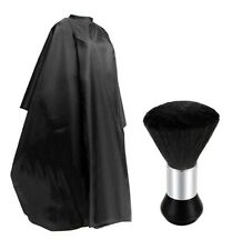 Pro Salon Hair Cut Barber Cape Hairdressing Haircut Apron Cloth Brush Tool Set