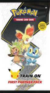 Pokemon First Partner PACK 3 Jumbo Kalos Cards +2 Booster 25th PREORDER
