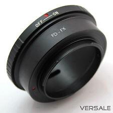 Canon FD en FX Fuji Fujifilm objetivamente ADAPTADOR Adaptador lente cámara x-a1 x-e1
