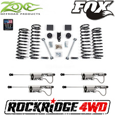 "Zone 3"" Suspension Lift Jeep Wrangler JK 4 Door w/ Fox Remote Reservoir Shocks"