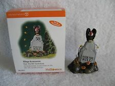 Dept 56 - Halloween - Over The Hill Tombstone - Mint - #53072