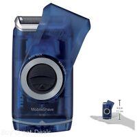 Pocket Dry Portable Shaver Shaving Razor Cordless Electric Battery Travel New
